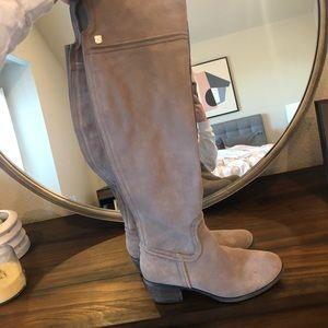 Vince Camino grey suede boots